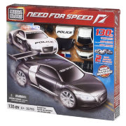 Конструктор 'Погоня' (Pursuit Set), Need For Speed, Mega Bloks [95766]
