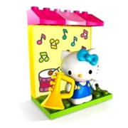 Конструктор 'Музыкант', Hello Kitty, Mega Bloks [10855]