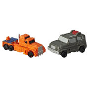 Трансформер 'Autobot Powertrain & Highjump', класс Micromaster, из серии 'Transformers: Siege' (Трансформеры: Осада), Takara Tomy, Hasbro [E4493]
