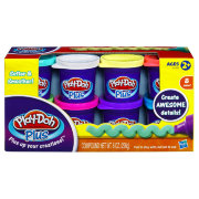 Набор супермягкого пластилина Play-Doh Plus, 8 цветов, Play-Doh, Hasbro [A1206]