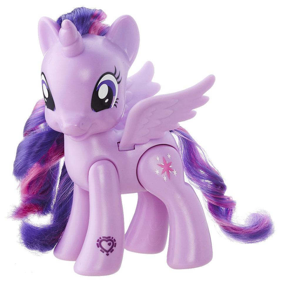 Игровой набор с большой пони 'Принцесса Сумеречная Искорка ...