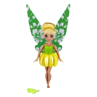 Феечка Tinker Bell (Динь-динь), 12 см, из серии 'Palm Tree Cove', Disney Fairies, Jakks Pacific [58816] Феечка Tinker Bell (Динь-динь), 12 см, из серии 'Palm Tree Cove', Disney Fairies, Jakks Pacific [58816]