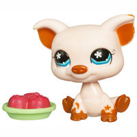 Игрушка Littlest Pet Shop - Single  Поросенок [68688] Игрушка Littlest Pet Shop - Single  Поросенок [68688]