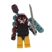 Конструктор-минифигурка 'Трансформер Decepticon Bludgeon 2-в-1', из серии Kreon Micro-Changers 2013, KRE-O Transformers, Hasbro [A2200-51]