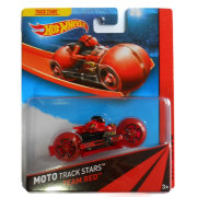 Мотоцикл Team Red, HW Race - Moto Track Stars, Hot Wheels, Mattel [BDN37]