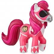 Коллекционная пони 'Morphin Pink - Power Rangers', #X001, из серии 'Crossover Collection', My Little Pony, Hasbro [F0041]